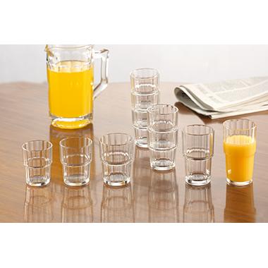Arcoroc Trinkglas NORVEGE 7,4 x 12,5 cm (Ø x H) 320ml Glas glasklar 6 St./Pack.