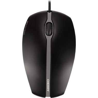 CHERRY Optische PC Maus GENTIX SILENT USB schwarz