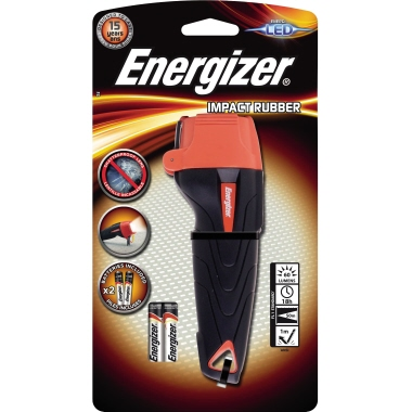 Energizer® Taschenlampe Impact Rubber 50m 60lm LED 18 h AAA/Mignon Hartgummi
