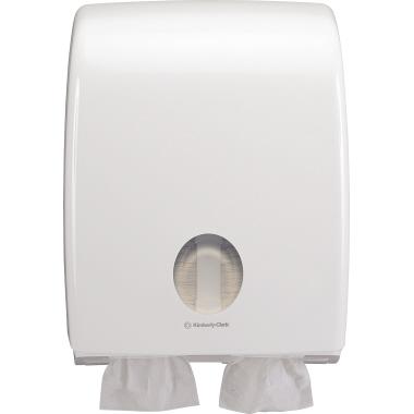 Aquarius Toilettenpapierspender 31,7 x 40,7 x 14,7 cm (B x H x T) Kunststoff weiß