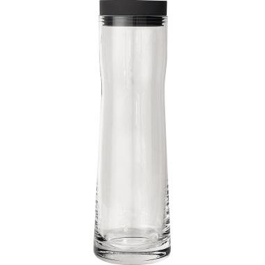 blomus Karaffe SPLASH 1l Silikon/Glas/Edelstahl, poliert transparent