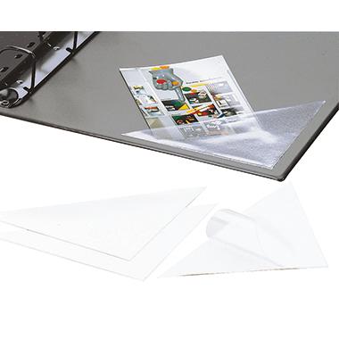 DURABLE Selbstklebetasche CORNERFIX® 7,5 x 7,5 cm (B x H) Weichfolie transparent 100 St./Pack.