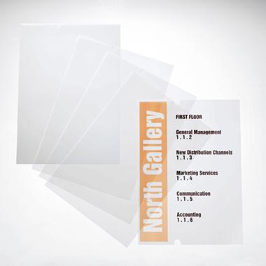 DURABLE Ersatzfolie CRYSTAL SIGN 210 x 297 mm (B x H) Polypropylen transparent