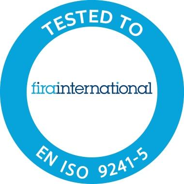 Fellowes® Handgelenkauflage PlushTouch™ 46 x 2,5 x 8,1 cm (B x H x T) antistatisch Lycra blau