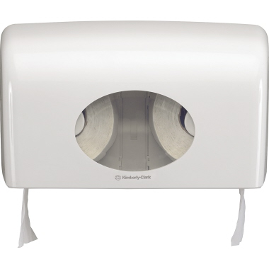 Aquarius Toilettenpapierspender 29,8 x 18 x 12,8 cm (B x H x T) Kunststoff weiß
