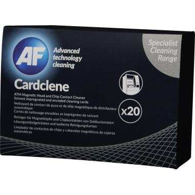 AF Reinigungskarte Cardclene ATM Cardclene Kartenlesegeräte 20 St./Pack.