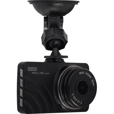 "DENVER Dashcam CCT-2010 7,62 cm (3"") 1.920 x 1.080 Pixel microSD inkl. Kfz-Halterung, 12 V-Autoadapt"