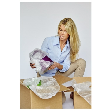 AirCap® Luftpolsterfolie 40 cm x 5 m (B x L) Polyethylen, recycelbar transparent