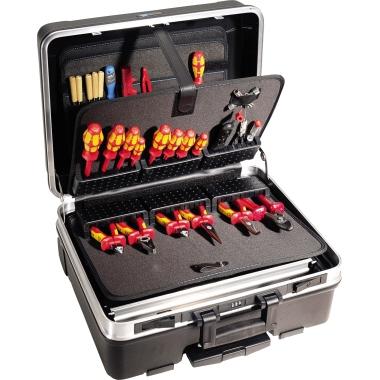 B&W International Werkzeugkoffer 515 x 440 x 255 mm (B x H x T) ABS-Kunststoff schwarz