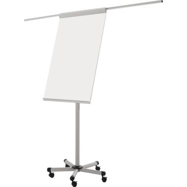 Bi-office Flipchart Mobile-Pro 70 x 197 cm (B x H) Stahl weiß
