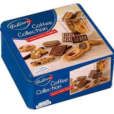 Bahlsen Gebäckmischung Coffee Collection 2 x 500 g/Pack.