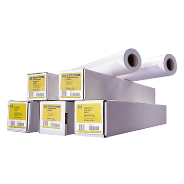 HP Plotterpapier 914 mm x 30,5 m (B x L) 130g/m² matt