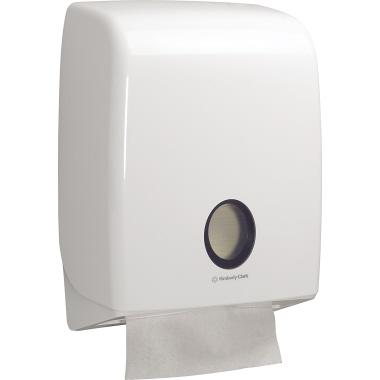 Aquarius Handtuchspender Standard 31,7 x 40,7 x 14,7 cm (B x H x T) Kunststoff weiß