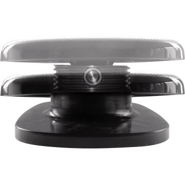 UNILUX Fußstütze Chocolate 45 x 35 cm (B x T) nicht beheizbar Polypropylen schwarz