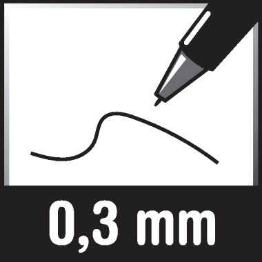 edding Folienstift 140 S 0,3mm grün nicht dokumentenecht