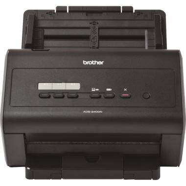 Brother Scanner ADS-2400N 30,6 x 25 x 25,8 cm (B x H x T) DIN A4 40 Seiten/Min. Simplex. 80 Bilder/M