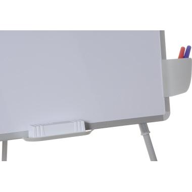 Bi-office Flipchart Station 200 Easel 70 x 180 cm (B x H) Stahl weiß