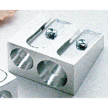 Soennecken Doppelspitzer 7,8 und 11mm Metall silber