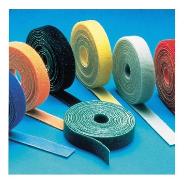 Klettband 20 mm x 5 m (B x L) nicht selbstklebend schwarz