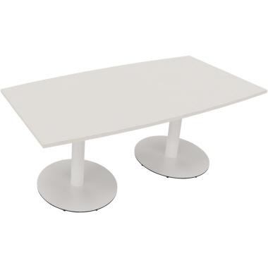 Konferenztisch communication 1.800 x 720 x 800/900 mm (B x H x T) Holz Farbe der Tischplatte: diaman