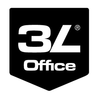 3L® Office Products Sichttasche DIN A4 Polypropylen transparent 10 St./Pack.