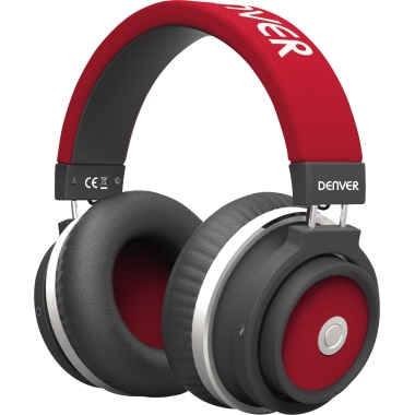 DENVER Kopfhörer BTH-250 10m Akku rot