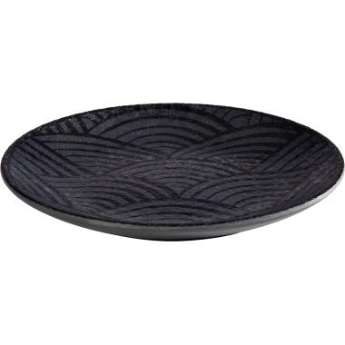 APS Speiseteller Mehrweg 14,5cm schwarz