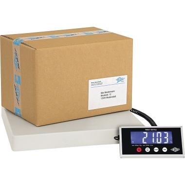 WEDO® Paketwaage PAKET 100 Plus 50 g - 100kg mit Netzanschluss