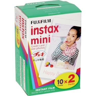 Fujifilm Film Fotoapparat instax mini instax mini Sofortbildkameras 2 x 10 St./Pack.