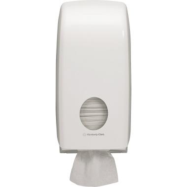Aquarius Toilettenpapierspender 16,9 x 33,8 x 12,3 cm (B x H x T) Kunststoff weiß