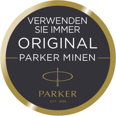 Parker Tintenrollermine QUINK 0,7mm schwarz