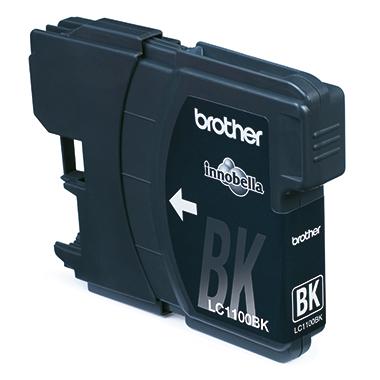 Brother Tintenpatrone LC-1100BK ca. 450 Seiten schwarz 9,5ml