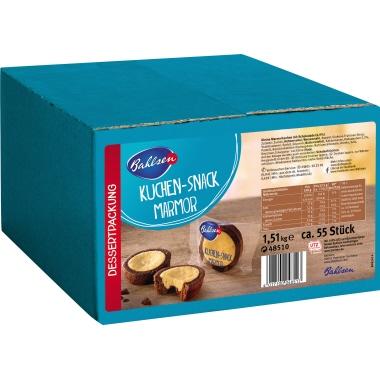 Bahlsen Gebäck Kuchen Snack Marmor 55 x 27,5 g/Pack.