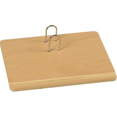 BRUNNEN Kalenderständer für 11 x 14,5 cm 20 x 4,5 x 16 cm (B x H x T) Holz hellbuche