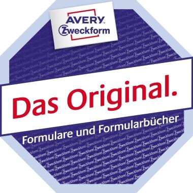 Avery Zweckform Bauformular DIN A4 selbstdurchschreibend 2 Durchschläge 3 x 40 Bl.