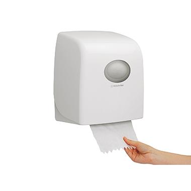 Aquarius Handtuchspender 31,8 x 34,3 x 19 cm (B x H x T) Kunststoff weiß