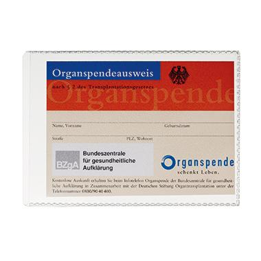 DURABLE Ausweishülle DIN A7 Polypropylen transparent