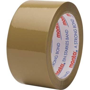 Monta Packband 315 50 mm x 66 m (B x L) Polypropylen braun 6 St./Pack.