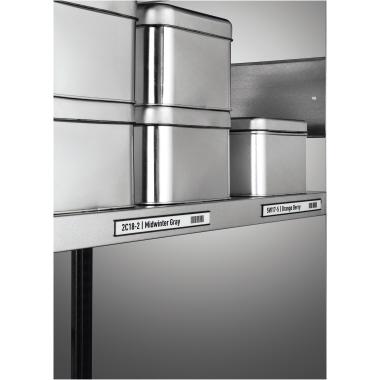 DURABLE Schilderrahmen 20 x 2 cm (B x H) Polyethylen/Metall anthrazit 5 St./Pack.