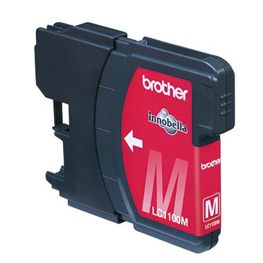 Brother Tintenpatrone LC-1100HY-M ca. 750 Seiten magenta 10,1ml