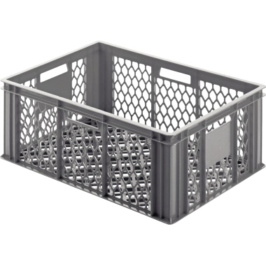 ALUTEC Aufbewahrungsbox 60 x 25 x 40 cm (B x H x T) 49l Polyethylen grau