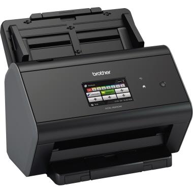 Brother Scanner ADS-2800W 30,6 x 25 x 25,8 cm (B x H x T) DIN A4 40 Seiten/Min. simplex, 80 Bilder/M