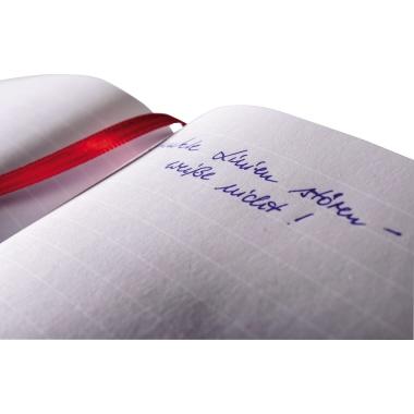 Avery Zweckform Notizbuch Notizio DIN A5 liniert grau 80 Bl.