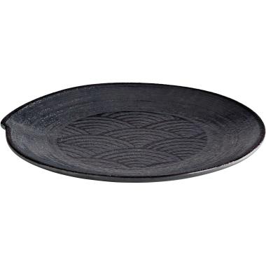 APS Speiseteller Mehrweg 22cm schwarz