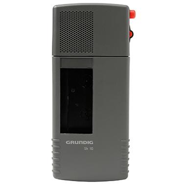 Grundig Diktiergerät Sh 10 6,6 x 14,2 x 2,5 cm (B x H x T) Steno-Cassette 30 titan