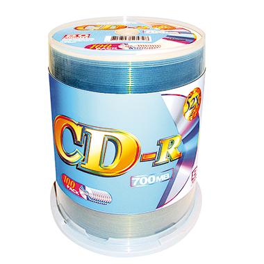 CD-R 80min 700Mbyte 52x 100 St./Pack.