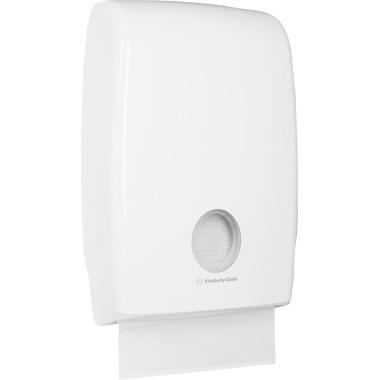 Aquarius Handtuchspender MultiFold 29,4 x 45,1 x 12 cm (B x H x T) Kunststoff weiß