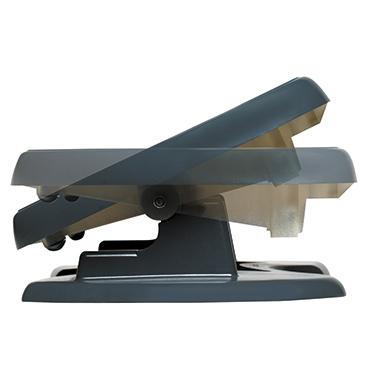 UNILUX Fußstütze Nymphea 42 x 32 cm (B x T) ABS Kunststoff/PVC schwarz