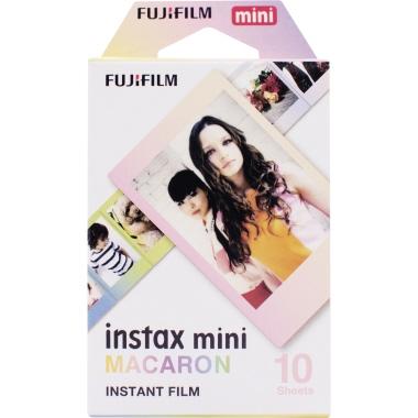 Fujifilm Film Fotoapparat instax mini MACARON instax mini Sofortbildkameras 10 St./Pack.