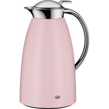 alfi Isolierkanne Gusto 1l Metall quarz rosé